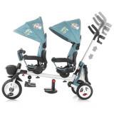 Tricicleta gemeni Chipolino 2Fun grey