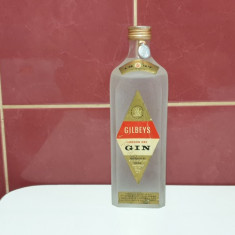 Gilbey's London dry Gin  1960 Forte Rar pentru Colectionari