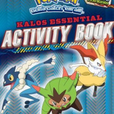 Pokemon: Kalos Essential Activity Book (Pokemon)