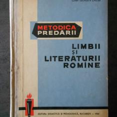 CLARA GEORGETA CHIOSA - METODICA PREDARII LIMBII SI LITERATURII ROMANE
