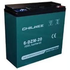 Baterii gel 12v-20a pentru scuter sau bicicleta electrica, Hepu
