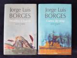 J.L. Borges – Moartea si busola, Cartea de nisip (ed. cartonata, 2 vol.)