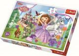 Cumpara ieftin Puzzle maxi Lumea colorata a Sofiei, 24 piese