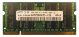 Cumpara ieftin Memorii Laptop 2GB DDR2 PC2 5300S 667Mhz Samsung Hynix Nanya Elpida Kingston