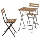 Masa cu doua scaune , exterior - pliabile