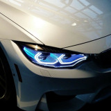 LED ANGEL EYES compatibil BMW E90, E92, E93, F30 fara lupa Lumina alba LEDAE01