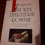 Dumitru Micu-Istoria Literaturii Romane