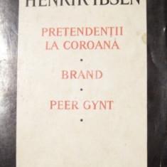 Teatru - Pretendentii la coroana. Brand. Peer Gynt, vol. 1