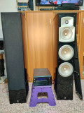 Amplificator onkyo + boxe yamaha ns-555