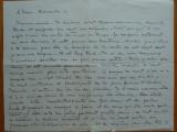 Scrisoare expediata de Cella Delavrancea