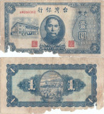 1946 , 1 yuan ( P-1935 ) - Taiwan