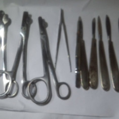 USTENSILE SI DISPOZITIVE MEDICALE VINTAGE ,VECHI SCULE STOMATOLOGIE ,CHIRURGIE