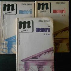 Iorgu Iordan - Memorii 3 volume