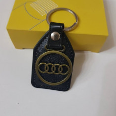 Breloc piele Audi breloc cheie auto