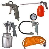 Kit (aer comprimat) compresor Furtun presiune pistol umflat lichid vopsit