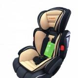Cel mai rezistent Scaun auto MACACA Comfort 9-36 kg (Brown), 2-3 (15-36 kg), Opus directiei de mers, Isofix