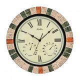Ceas de perete cu termometru AMS 9620 Interior-Exterior