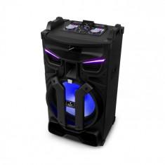 """Auna Silhouettes, sistem de sunet pentru petreceri, difuzor de 15"""", USB, SD, BT, 450 W, negru"""