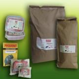 Momeala soareci, sobolani, PRODIORAT CUB, 400 gr, suport cereale maruntite parafinate, grajduri, depozite