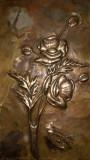 Maci, metaloplastie pe lemn