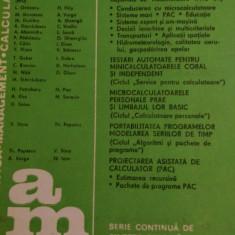 LXXC1 Automatica management calculatoare nr 51- Editura tehnica