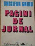 Pagini De Jurnal (1935-1963) Vol.i - Onisifor Ghibu ,288545
