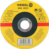 Disc debitat metale 125 x 2.5 x 22 mm Vorel 08635