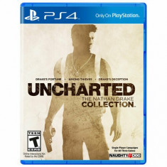 Joc PS4 Uncharted: The Nathan Drake Collection