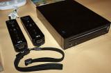 NINTENDO Wii |BLACK|3 controllere|complet +1 joc (RVL-001) GAMECUBE