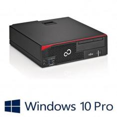 PC refurbished Fujitsu Esprimo D556/2 SFF, i5-7400, Win 10 Pro