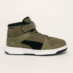 Puma - Pantofi copii Rebound Layup Fur SD V PS