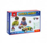 Set de constructie Magical Magnet, 40 piese