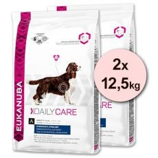 EUKANUBA Daily Care OVERWEIGHT & STERILISED - 2 x 12,5 kg