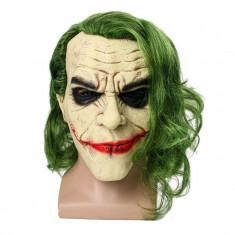 Masca latex Joker Batman DC Comics Halloween petrecere tematica Comicon +CADOU!