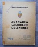 Uzinele Comunale Bucuresti - Asanarea lacurilor Colentinei, 1936