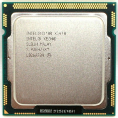 Procesor  Intel Xeon Quad-Core X3470 2.93GHz, 4 cores si 8 threads