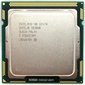 Procesor  Intel Xeon Quad-Core X3470 2.93GHz, 4 cores si 8 threads