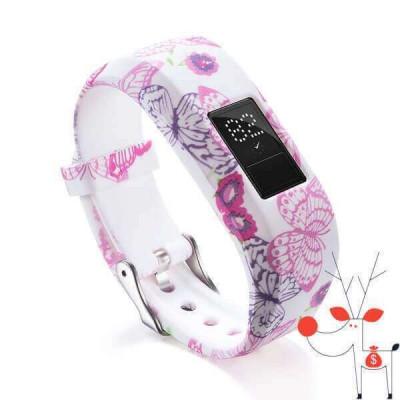 Bratara silicon curea fitness Smartwatch Garmin VivoFit Jr 2, smartwatch fitness foto