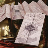 Mini Harta HARRY POTTER - Marauder's Map / Harta Stremgarilor