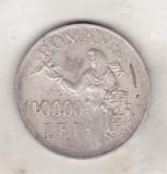 bnk mnd Romania 100000 lei 1946 ,  argint