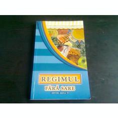 REGIMUL FARA SARE - AGNES MOUTON GENSBURGER