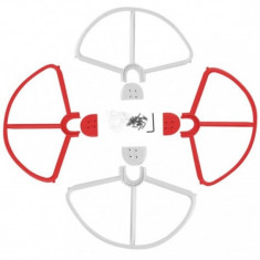Rotor-schutz-set / abdeckungen passend pentru dji phantom 2,3 u.a. weiß-rot, ,