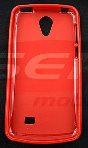 Toc plastic siliconat HTC Desire 530 ROSU foto