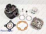 Kit Cilindru - Set motor + CHIULOASA Scuter Minarelli Orizontal - 80cc - AER