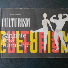 LAZAR BAROGA - CULTURISM. PROGRAME
