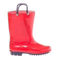 Cizme cauciuc pentru copii Rainy Day rosii