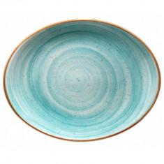 Farfurie ovala portelan, 31 cm, Bonna-Aqua, 010111