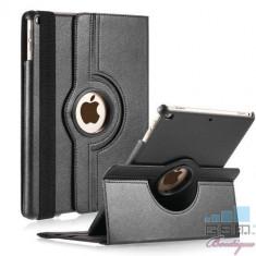 Husa Flip Cu Stand iPad 9,7 inch Rotire 360 De Grade Neagra