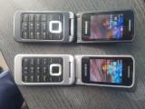 TELEFON CU CLAPETA SAMSUNG C3520 PERFECT FUNCTIONAL SI DECODAT.CITITI DESCRIEREA, Argintiu, Neblocat