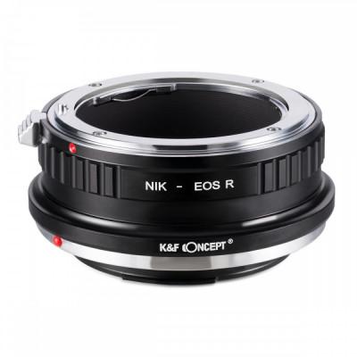 K&F Concept Nikon-EOS R adaptor montura de la Nikon AI la Canon EOS R KF06.379 foto